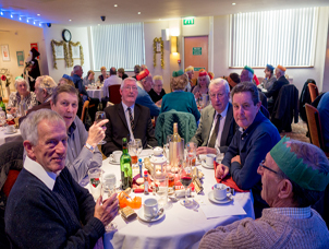 Carlton House Club Christmas Party for the Old Age Pensioners